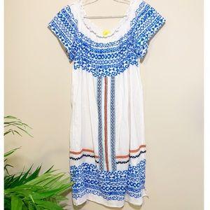 100% Cotton Roller Rabbit Athena Dress/Coverup M